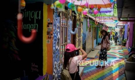 In Picture: Kampung Warna-Warni Pengangkat Ekonomi Warga (Bagian 2)