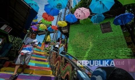 In Picture: Kampung Warna-Warni Pengangkat Ekonomi Warga (Bagian 1)