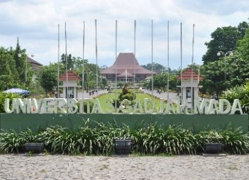 Kampus UGM Yogyakarta/Ilustrasi