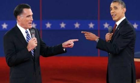 Debat Terakhir, Obama-Romney Saling Serang Terkait Isu Timur-Tengah
