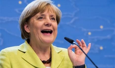 Angela Merkel Nilai Israel Hambat Solusi Damai dengan Palestina