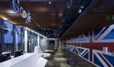 Kantor baru Google di London