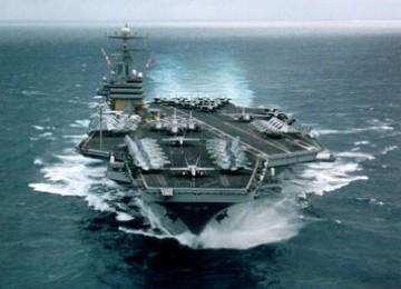 Saling Tabrak, Dua Kapal AL AS Rusak