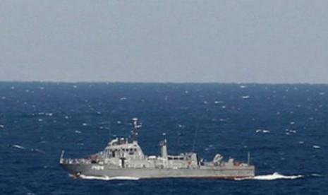 Kapal Iran (ilustrasi).