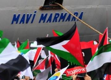 Kapal Mavi Marmara diserang serdadu Zionis ketika mengirim bantuan kemanusiaan ke Gaza.