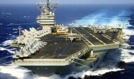 Kapal Perang AS bernama USS Nimitz