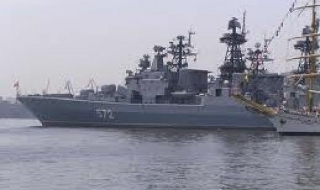 Kapal perang Rusia