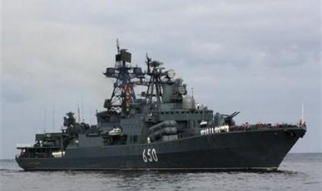 Sumber militer: rusia kirim enam kapal perang ke suriah