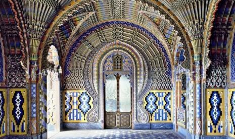 Kastil Sammezzano, Italia