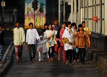 Kaum Muslim hendak menghadiri Shalat Ied