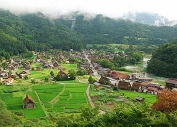 Kawasan desa (ilustrasi)