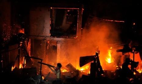 Kebakaran (ilustrasi)