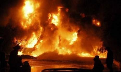Kebakaran/ilustrasi