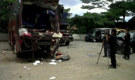 Korban Kecelakaan Di Tol Cipularang Rombongan Warga Purbalingga