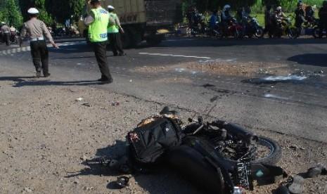 Hari Lebaran, 40 Kecelakaan, 7 Orang Tewas