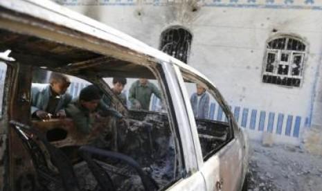 Kekerasan di Yaman.