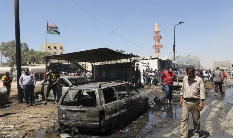 Kekerasan melanda Libya (ilustrasi)