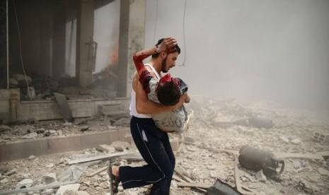 Kekerasan panjang melanda Suriah.