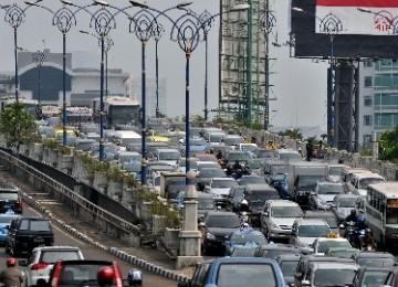 Kemacetan, salah satu masalah utama DKI Jakarta