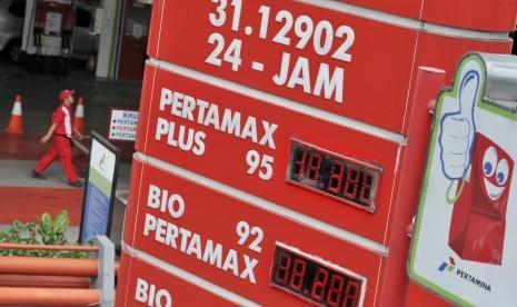 Kenaikan Harga Pertamax di SPBU Pertamina