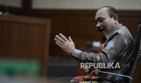 In Picture: Kepala Bakamla Beri Kesaksian di Sidang Tipikor