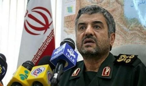 Kepala Garda Revolusi Iran Jenderal Mohammad Ali Jafari.