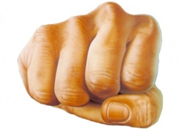 Kepalan tangan, tinju (Ilustrasi)