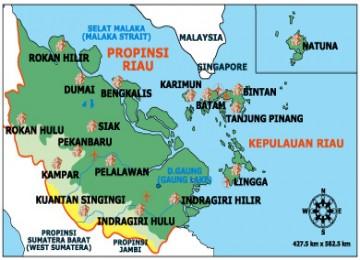 Informasi: Daftar Kabupaten dan Kota di Riau beserta ...