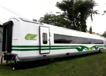 Kereta api ramah lingkungan, KA Argo Bromo yang sudah dipermak ulang oleh PT Inka