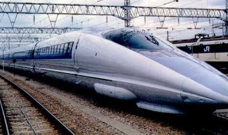Jokowi Ingin Shinkansen Ada di Indonesia