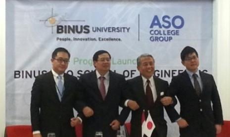 Kerjasama Binus-ASO College