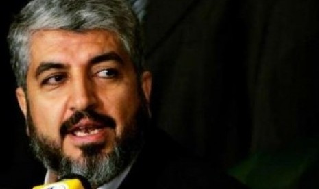 Hamas leader in exile, Khaled Meshal (file photo)
