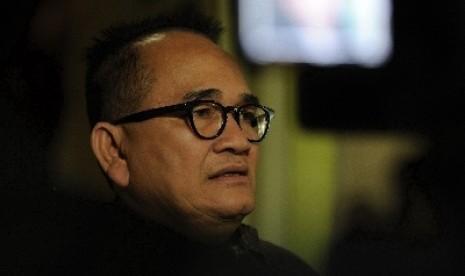 Ketua Departemen Komunikasi dan Informasi Partai Demokrat, Ruhut Sitompul.