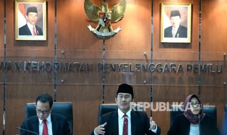 In Picture: DKPP Putuskan Ketua KPUD DKI Melanggar Kode Etik