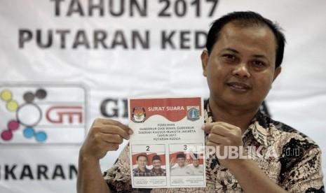 KPUD DKI Mulai Cetak Surat Suara untuk Putaran Dua