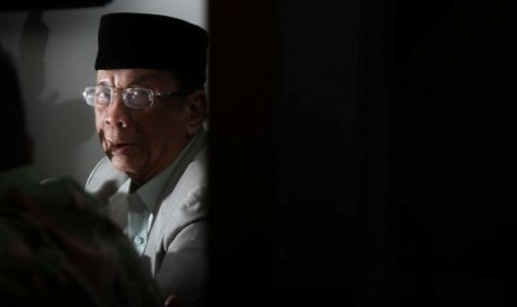 Chairman of Indonesian Ulama Council, Amidhan (file photo)