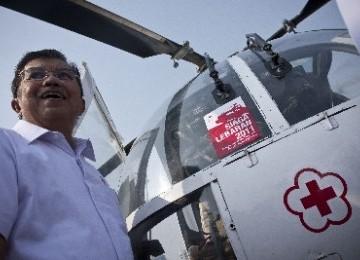 Ketua Palang Merah Indonesia, Jusuf Kalla.