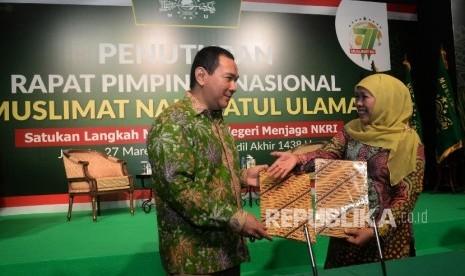 In Picture: Tommy Soeharto Jalin Kerja Sama dengan Muslimat NU, Kembangkan Ekonomi Kerakyatan