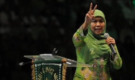 Ketua Umum Muslimat NU, Khofifah Indar Parawansa.
