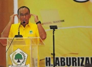 Ketua Umum Partai Golkar Aburizal Bakrie