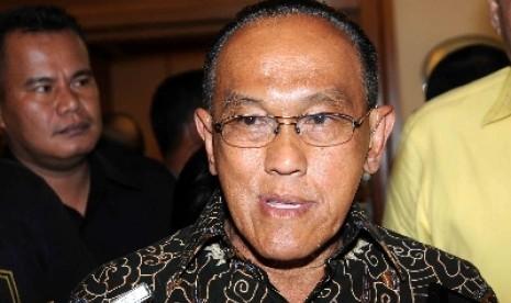 Ketua Umum Partai Golkar hasil Munas Bali, Aburizal Bakrie.