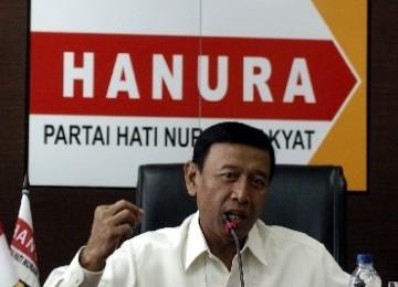 Ketua umum Partai Hanura Wiranto.