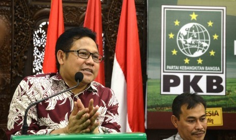 Ketua Umum Partai Kebangkitan Bangsa (PKB), Muhaimin Iskandar
