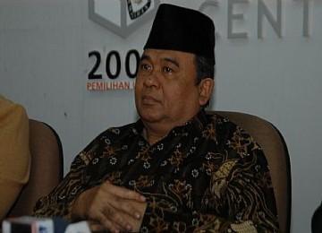 Ketua KPU Abdul Hafiz Anshary