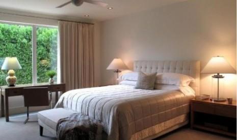Kipas angin di kamar tidur/ilustrasi
