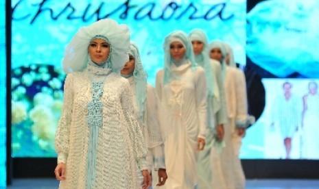 Tren Warna Busana Muslimah 2014