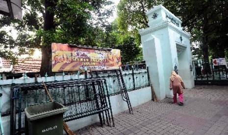 Kompleks Masjid Sunan Ampel, Surabaya.