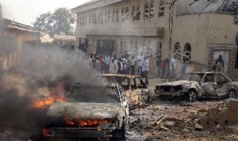 Konflik yang melibatkan Boko Haram (ilustrasi)