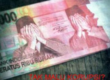 Korupsi, ilustrasi