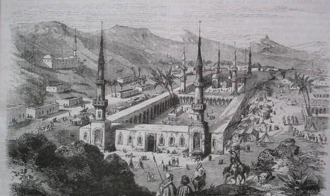 Kota Madinah tempo dulu.